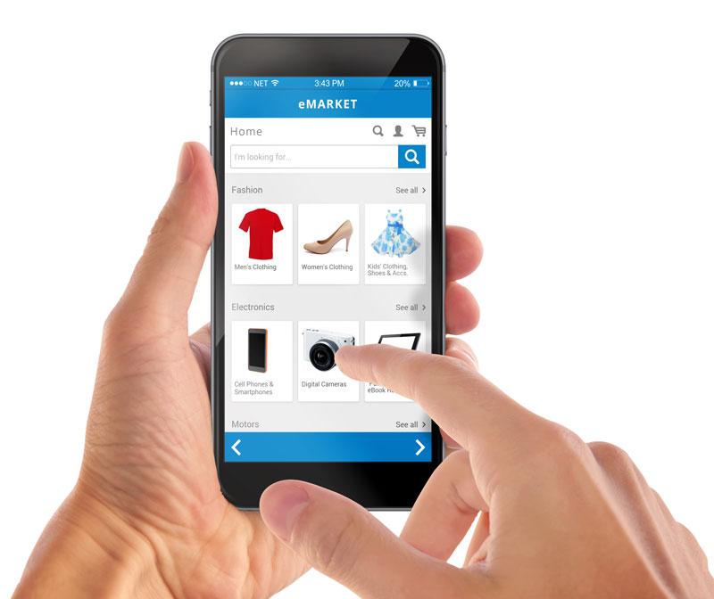 mobile optimized ecommerce image