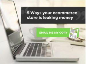 5 ways your e-commerce store is leaking money