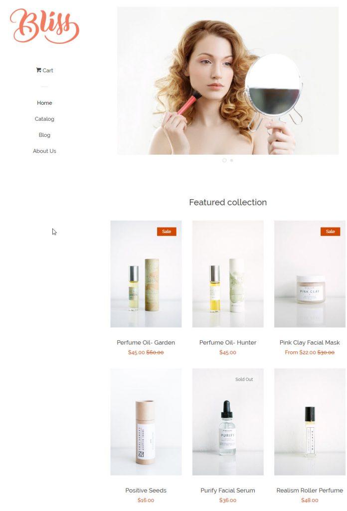Shopify Theme Example