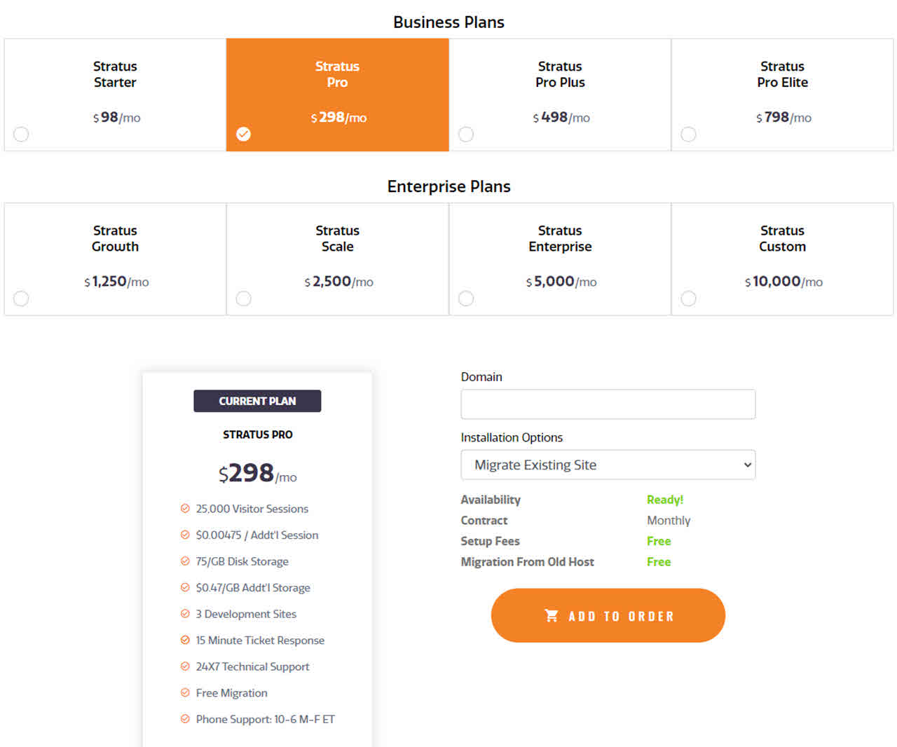 Magento Hosting Plans and Pricing at Magemojo